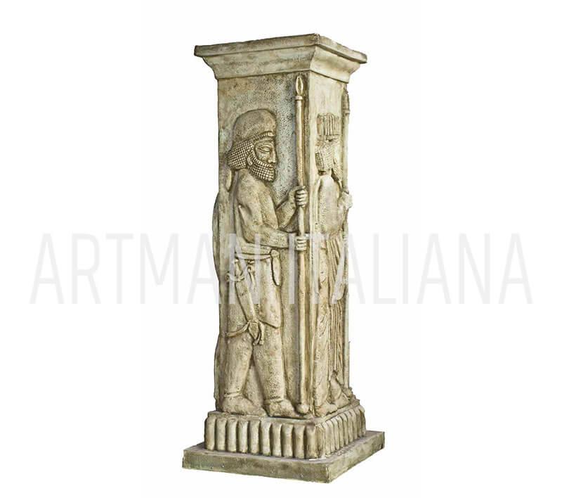 colonna a tema assiro-babilonese - Artman Italiana