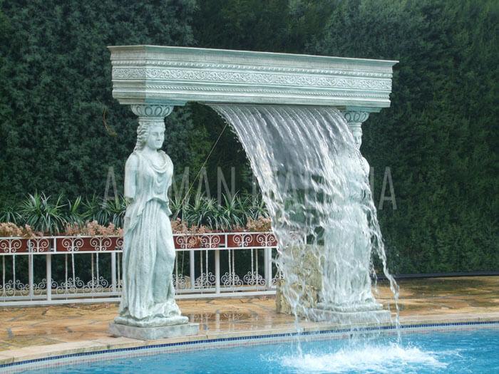 cascata a tema storico - Artman Italiana